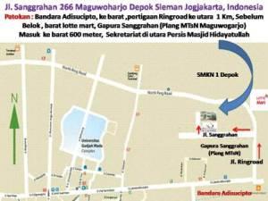 peta Rumah SEHATI sanggrahan maguwoharjo