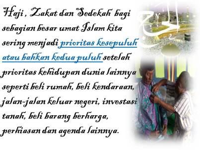 Motivasi Haji dan Zakat peduli sehati (2)