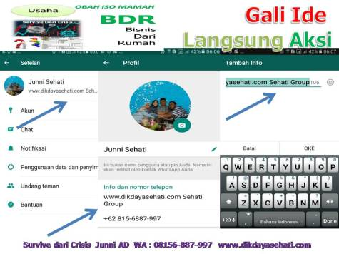 4 Kunci Survive Dari Crisis Coach H. Junni AD, S.Psi 08156-887-997 www.dikdayasehati.com (19)